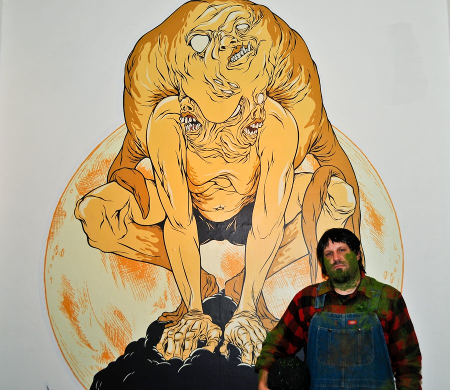 Alex Pardee And The Loyal Subjects Celebrate Baby Jesus