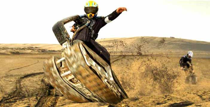 World's First All Terrain Powered Skateboard   Lost In A ...