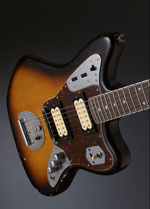 fender kurt cobain 1965 jaguar guitar lost in a supermarket. Black Bedroom Furniture Sets. Home Design Ideas