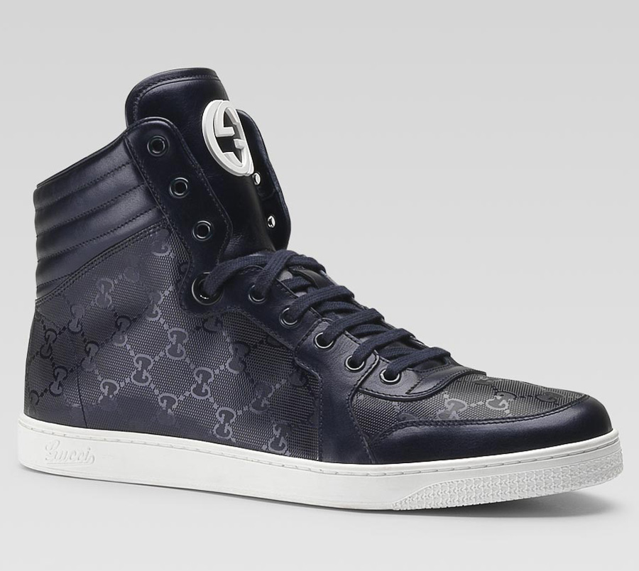 gucci interlocking g high top sneakers lost in a supermarket. Black Bedroom Furniture Sets. Home Design Ideas