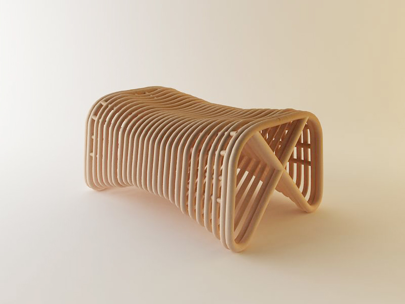 Eco Friendly Rattan Lounge Chair Amp Pretzel Bench Lost In