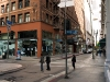 old bank downtown narrow