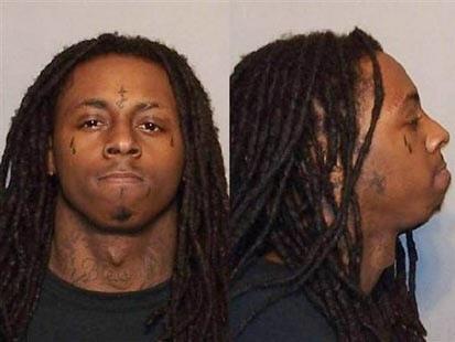Lil Wayne mugshot