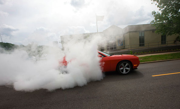 Challenger Burnout