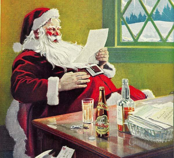 santa-beer-drinker