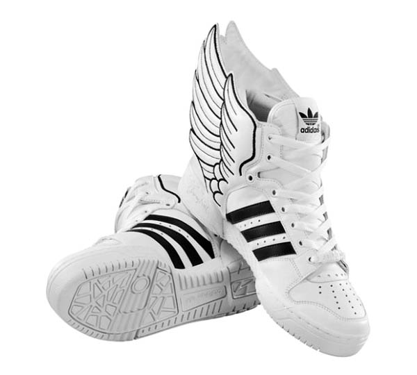 adidas high tops wings. The new Leather Wings 2.0