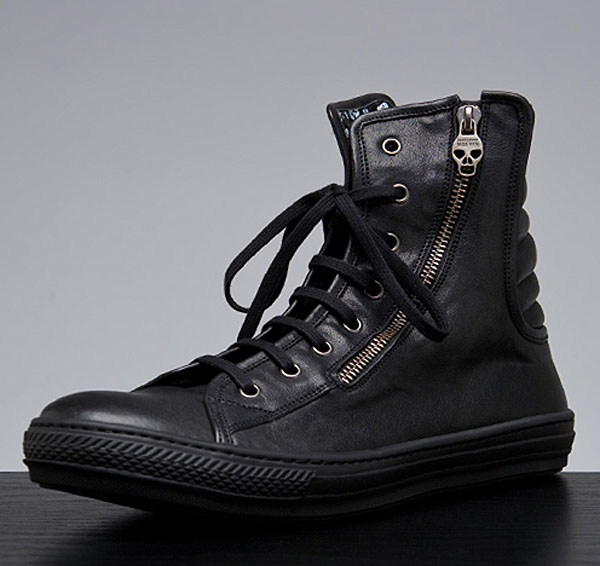 636b84e4152b6f The late Alexander McQueen has just released a pair of new high top sneakers  for the Fall/Winter 2010 collection.