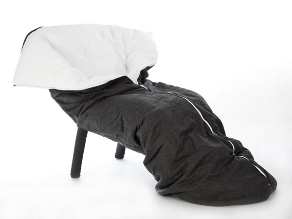 One Part Armchair And Sleeping Bag Equals Total Co Pretty Self Explanatory The Designed By Luxembourg Based Design