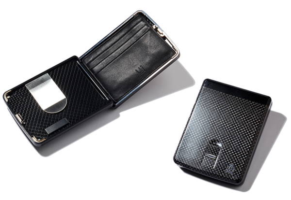 Dunhill Carbon Fiber Fingerprint-Sensing $14,000 Wallet | Lost In A