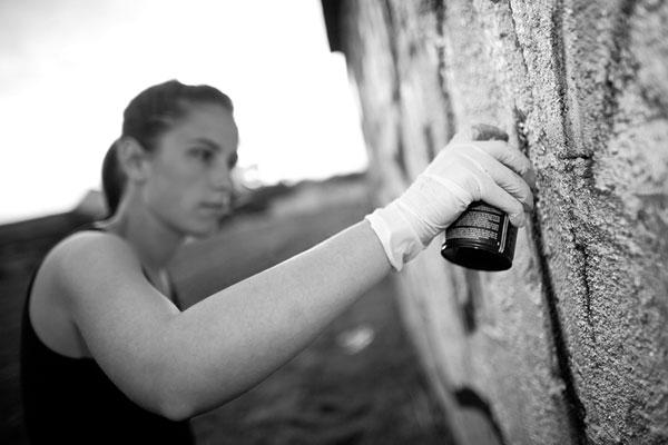Сердце в вк граффити