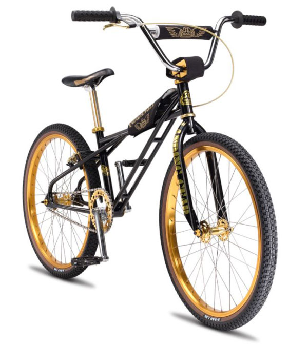 Limited Edition SE Racing Black & Gold Quad Loops BMX Bike | Lost In ...