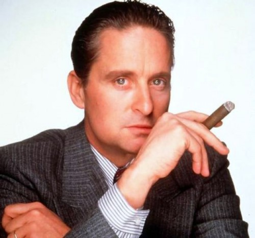 Change needed ... Kevin is not a believer in Gordon Gekko's mantra.