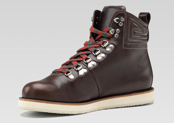 df462f39b4b Gucci Leather Hiking Boots