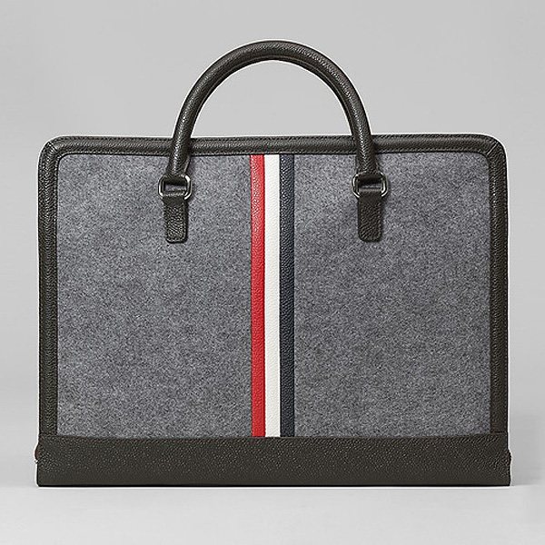 Thom Browne Black Fleece Computer Bag | Lost In A Supermarket