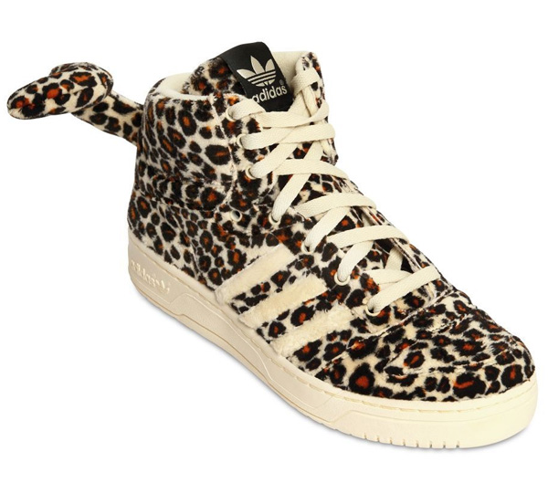 adidas cheetah print shoes with tail