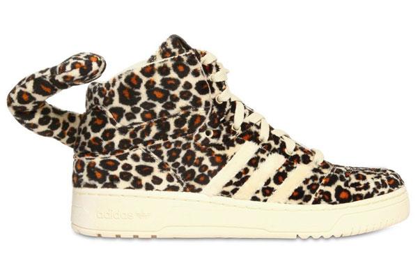 adidas high tops leopard print