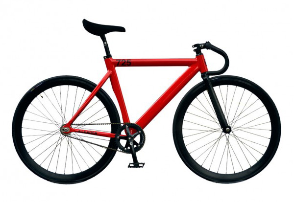 Leader 725tr Fixed Gear Bicycle Japan Only Rosso Corsa Edition