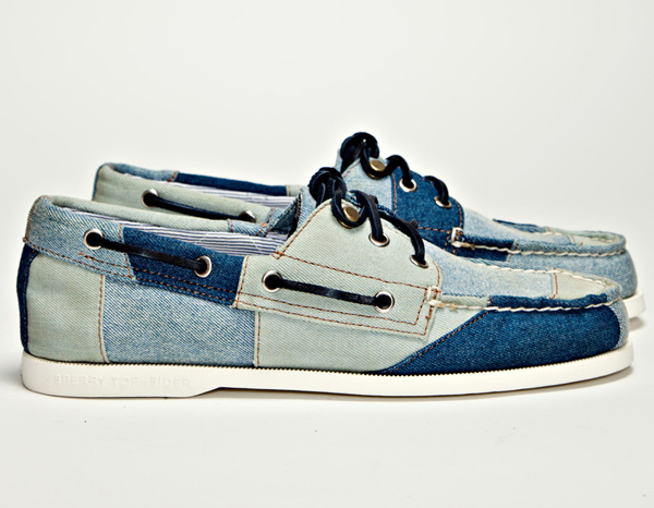 Band of Outsiders Denim Boat Shoes | Lost In A Supermarket