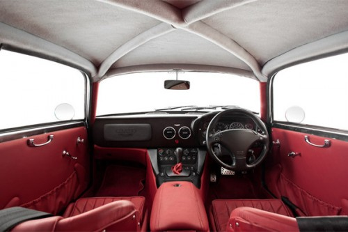 oxblood interior