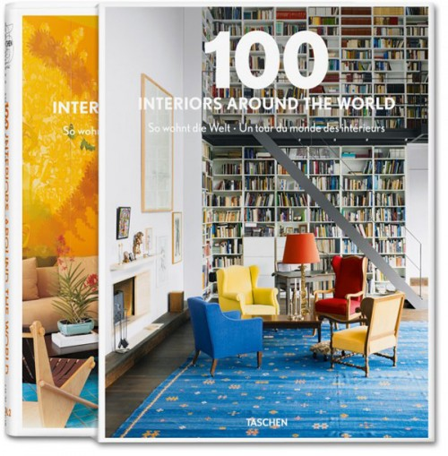 Interior Design Book taschen interior hardcover book - 100 interiors around the world