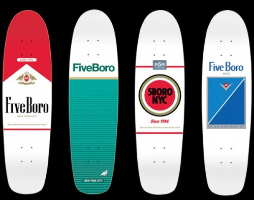 5 Boro Skateboard Cruisers - 5 Boro Surgeon General Cruiser - 5 Boro Surgeon General Skateboard - 5 Boro Skateboard