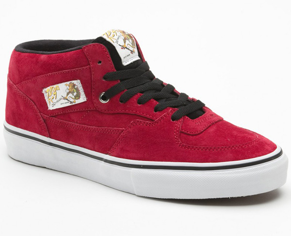 vans half cab 20th anniversary red