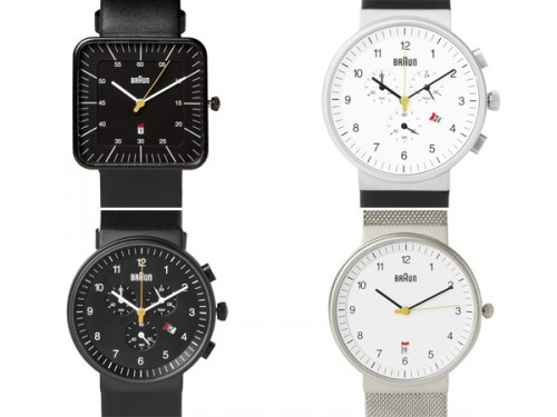 Braun Watch by Deiter Rams - Dieter Rams Designer - Dieter Rams Braun Watches - Dieter Rams Industrial Design