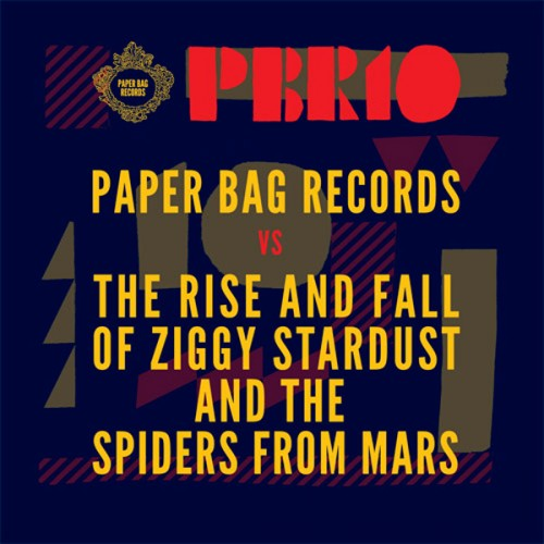 Paper Bag Records Cover Album - Paper Bag Records David Bowie - David Bowie Cover Album - Ziggy Stardust Cover Album