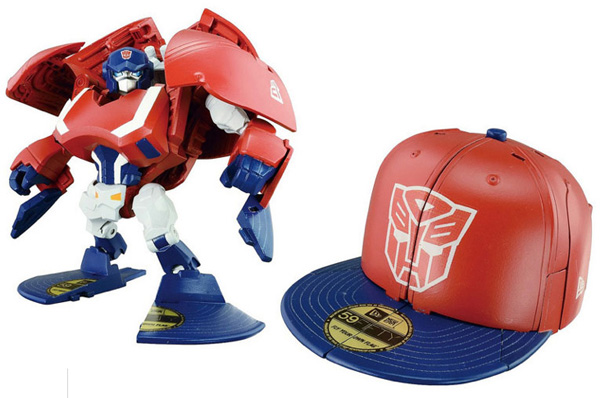 Toys For Caps : Transforming robot hats transformers new era takara