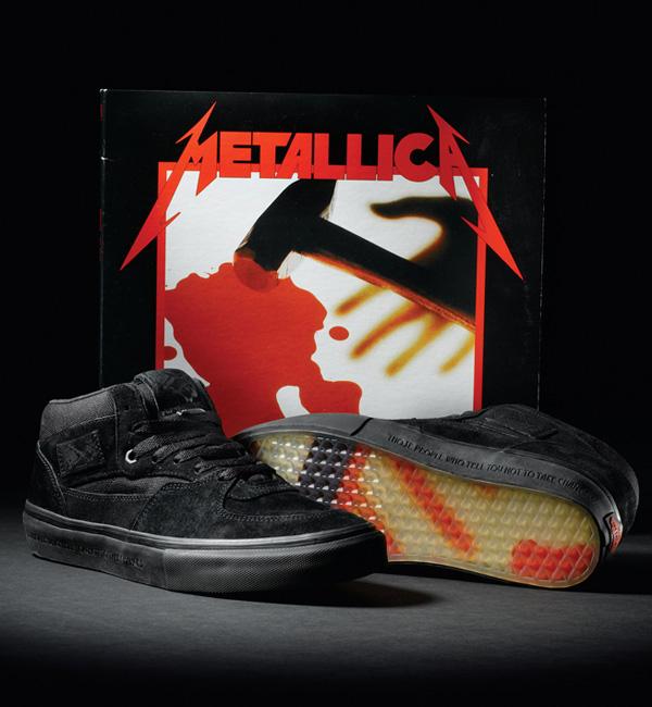 "f6c0090edb ... Steve Caballero   Metallica x Vans Half-Cab ""20th Anniversary"" Skate  Shoe. When a legendary skateboarder   once great band collaborate. You ..."