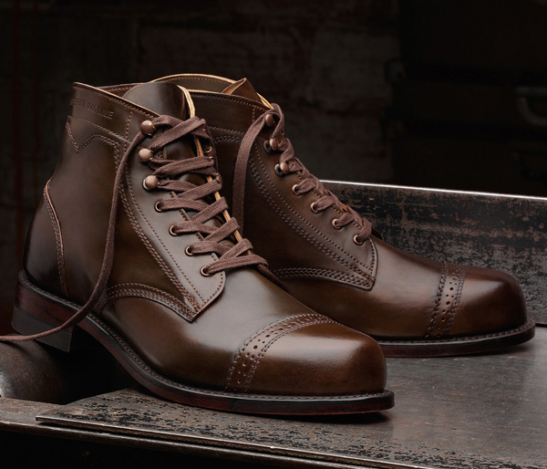 """Wolverine """"Shell Cordovan Leather"""" Special Edition 744LTD Boots ..."""