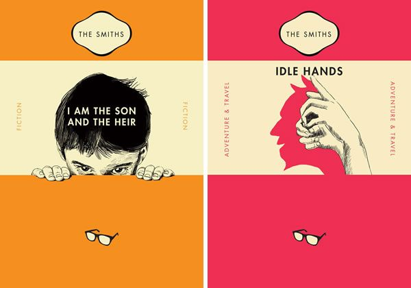 Classic Book Cover Designs : The smiths raid re imagines songs as penguin book