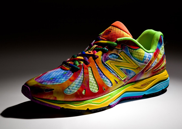 new balance rainbow running shoes