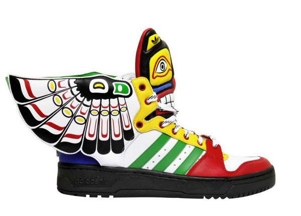 Adidas X Jeremy Scott Instinct High Top Sneakers Profile Photo