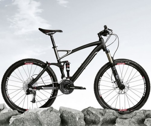 Mercedes special edition mountain bike 2012 lost in a for Mercedes benz mountain bike