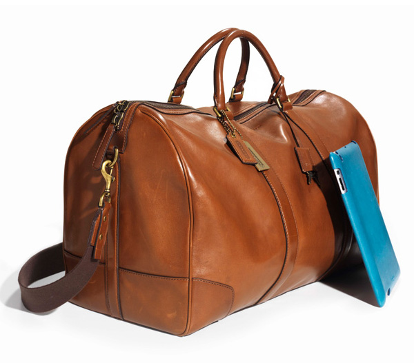 Coach Luxury Leather Cabin Bag | Lost In A Supermarket