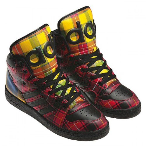 Jeremy-Scott-Tartan-sneakers