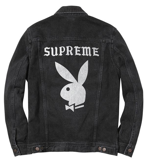 747aae017 Playboy x Supreme Denim Jacket | Lost In A Supermarket