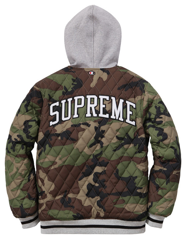 """Supreme x Champion """"Reversible Hoodie"""" Jacket For Fall ..."""